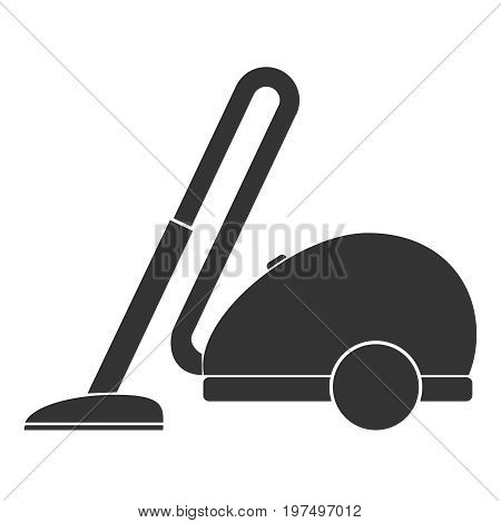 Vacuum cleaner vacuum cleaner icon. Flat design vector illustration vector.