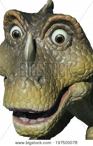Head Of Statue Dinosaur 3