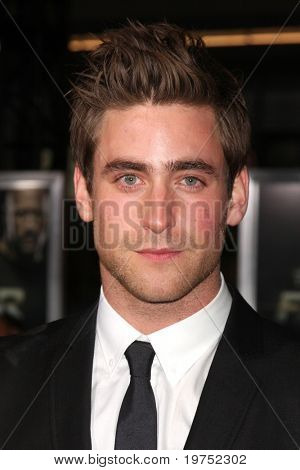 """LOS ANGELES - NOV 22:  OLIVER JACKSON-COHEN arrives at the """"Faster"""" LA Premiere at Grauman's Chinese Theater on November 22, 2010 in Los Angeles, CA"""