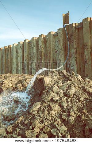 Dewatering Construction Site 2