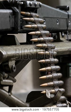 The Second world War machine gun with ammunition caliber 792. This model is known as