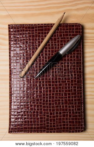 Business Diary And Pen
