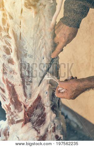 Butcher Cut Off The Fat 2
