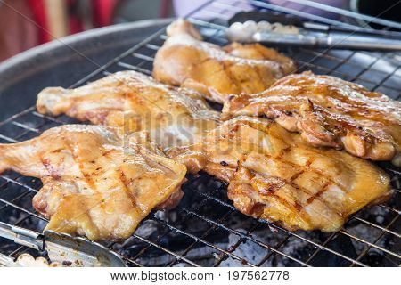 Delicious Grilled Chicken Thigh Barbecue