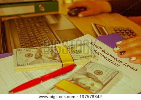 Business loans on bad credit. Business loans form. Business loans long term - Retro color