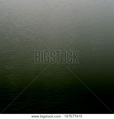 Foggy background blurred background of water surface