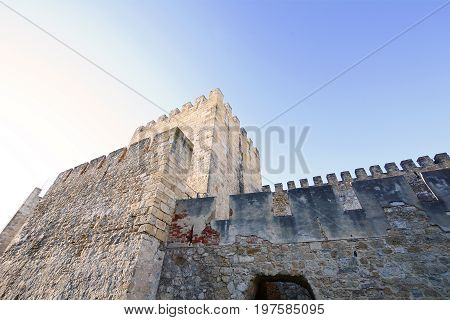 St. George's Castle In Lisbon, Portugal.