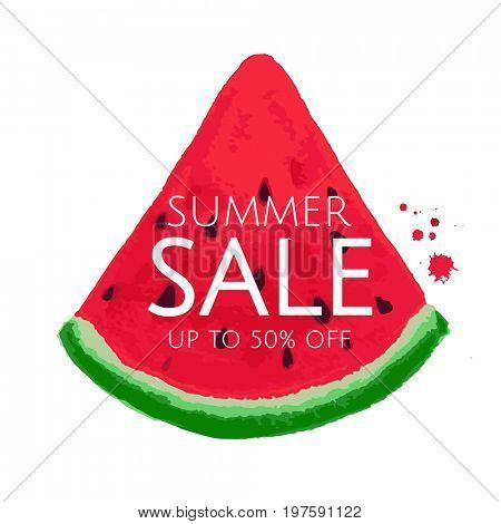 Watermelon Sale Banner