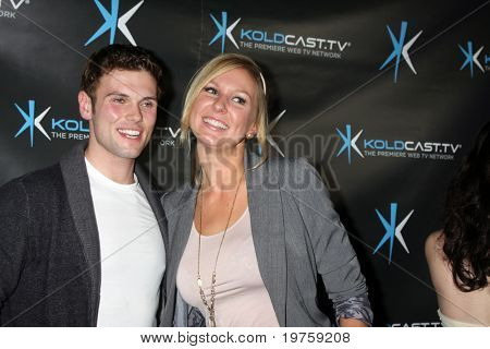LOS ANGELES - DEC 14:  David Cade, Natasha Lloyd attend the