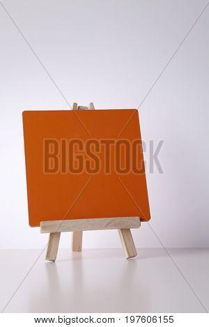 mini notice board on the white background