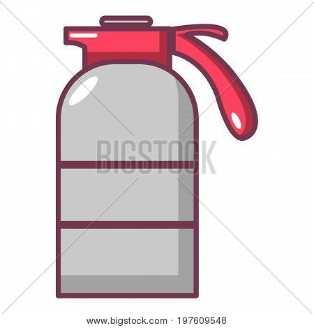 Sprayer container icon. Cartoon illustration of sprayer container vector icon for web design