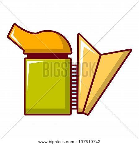 Beekeeping smoker icon. Cartoon illustration of beekeeping smoker vector icon for web design