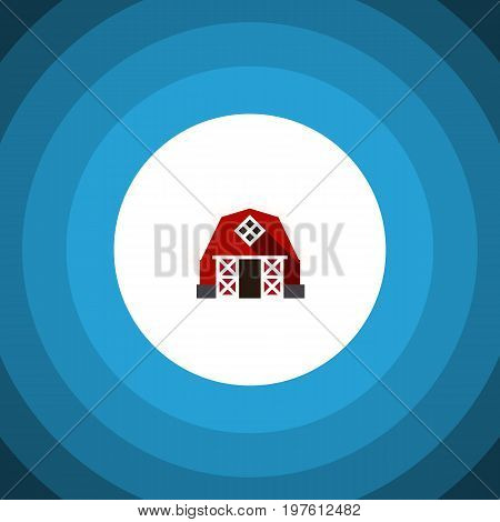 Farmhouse Vector Element Can Be Used For Ranch Barn Design Concept Isolated