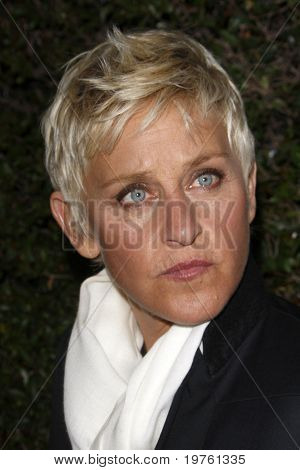LOS ANGELES - JAN 5:  Ellen DeGeneres arrives at the COVERGIRL 50th Anniversary Celebration at BOA Steakhouse on January 5, 2011 in West Hollywood, CA