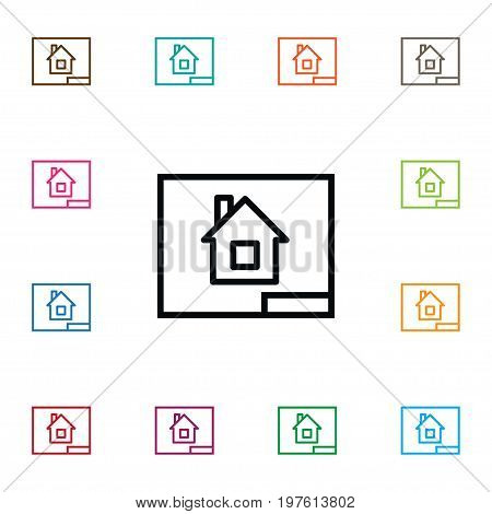 Paper Vector Element Can Be Used For Project, Paper, Blueprint Design Concept.  Isolated Project Icon.