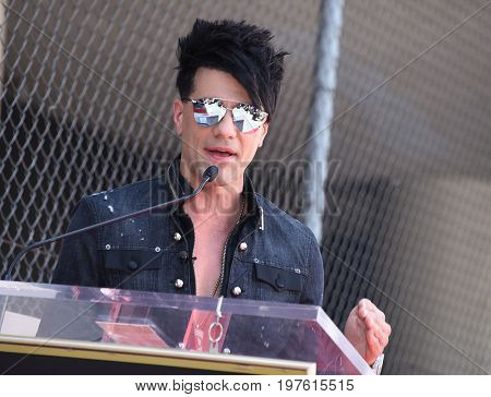 LOS ANGELES - JUL 20:  Criss Angel arrives for the Criss Angel Hollywood Walk of Fame Star Ceremony on July 20, 2017 in Hollywood, CA