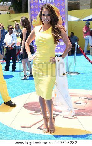 LOS ANGELES - JUL 23:  Bonnie-Jill Laflin arrives for the