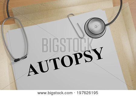 Autopsy - Medical Concept