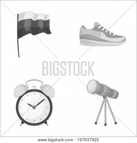 business, tourism, travel and other  icon in monochrome style. sky, zoom, study, icons in set collection