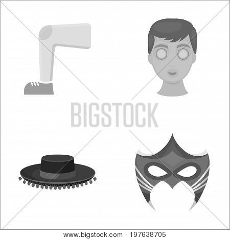 leisure, cosmetology, medicine and other  icon in monochrome style., cognito, carnival, business icons in set collection