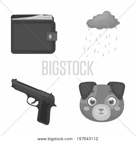 finances, weapon and other  icon in cartoon style.climate, animal icons in set collection.