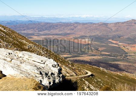 The Road Through The Mountains On The Swartberg