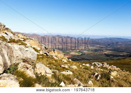 Mountain View Of Swartberg Nature Reserve