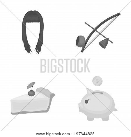 hairdresser, Cooking and other  icon in cartoon style.traveling, finance icons in set collection.