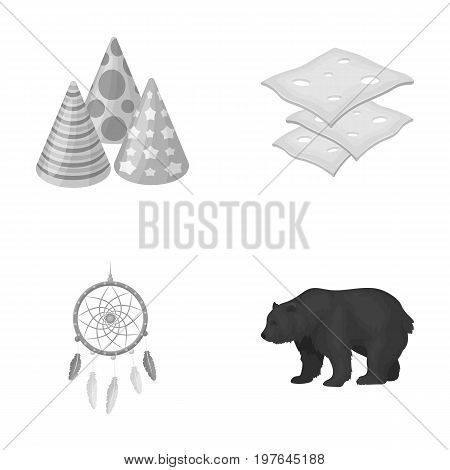 service, cooking and other  icon in cartoon style.animal, sleep icons in set collection.