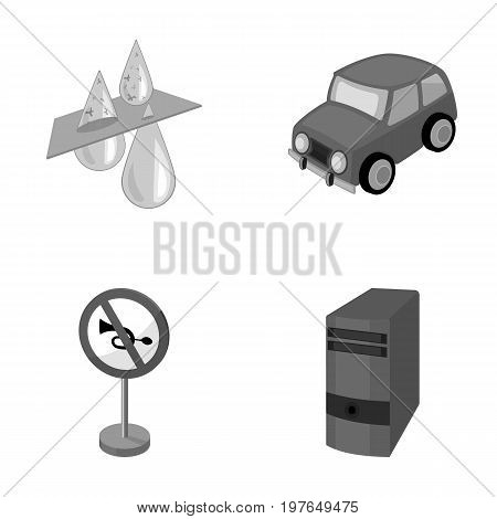 Filter, car and other  icon in cartoon style. road sign, system unit icons in set collection.