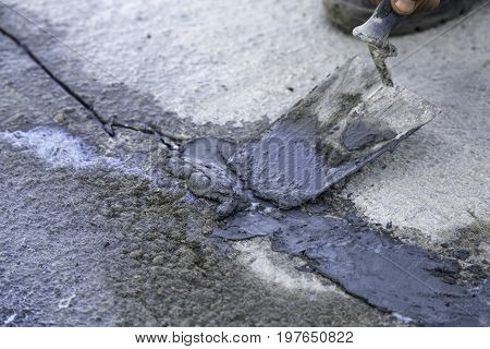 Repair Concrete Cracks 3