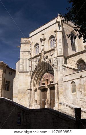 12th Century Church of St. Agricola, Avignon, France