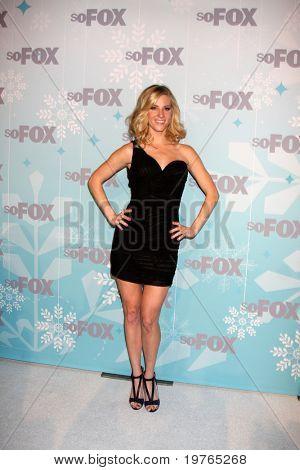LOS ANGELES - JAN 11:  Heather Morris arrives at the FOX TCA Winter 2011 Party at Villa Sorriso on January 11, 2011 in Pasadena, CA