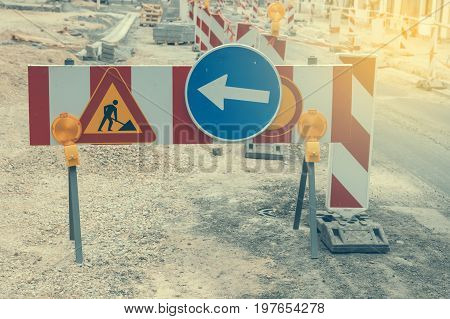 Warning Signs For Work In Progress 2