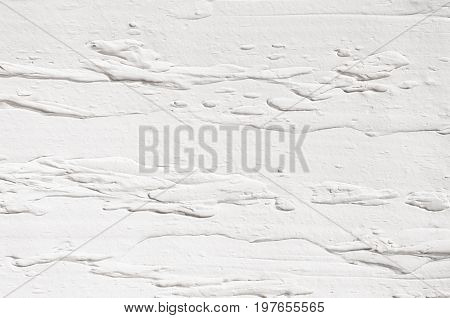 White decorative plaster texture. Light modern abstract background.