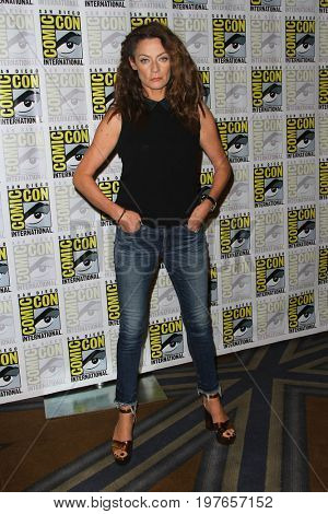 SAN DIEGO - July 23:  Michelle Gomez at Comic-Con Sunday 2017 at the Comic-Con International Convention on July 23, 2017 in San Diego, CA