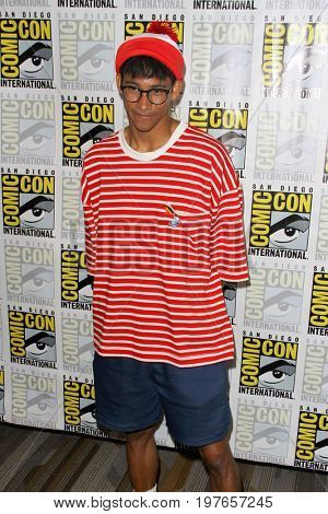 SAN DIEGO - July 22:  Keiynan Lonsdale  at Comic-Con Saturday 2017 at the Comic-Con International Convention on July 22, 2017 in San Diego, CA