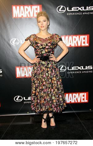 SAN DIEGO - July 22:  Katheryn Winnick at Marvel and Lexus Black Panther Party at Comic-Con at the Parq Nightclub on July 22, 2017 in San Diego, CA