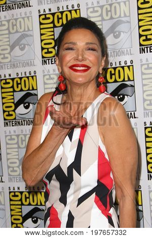 SAN DIEGO - July 22:  Shohreh Aghdashloo at Comic-Con Saturday 2017 at the Comic-Con International Convention on July 22, 2017 in San Diego, CA