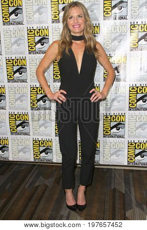 SAN DIEGO - July 21:  Maggie Lawson at Comic-Con Friday 2017 at the Comic-Con International Convention on July 21, 2017 in San Diego, CA