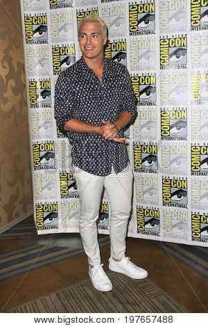 SAN DIEGO - July 21:  Colton Haynes at Comic-Con Friday 2017 at the Comic-Con International Convention on July 21, 2017 in San Diego, CA