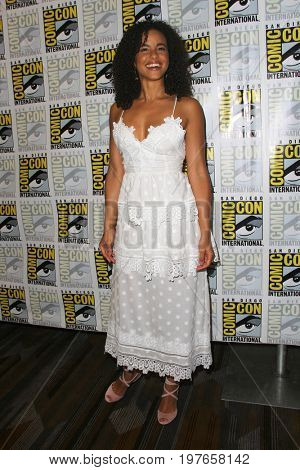 SAN DIEGO - July 22:  Parisa Fitz-Henley at Comic-Con Saturday 2017 at the Comic-Con International Convention on July 22, 2017 in San Diego, CA