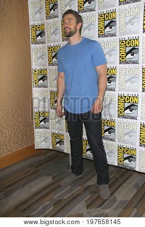 SAN DIEGO - July 21:  Robert Buckley at Comic-Con Friday 2017 at the Comic-Con International Convention on July 21, 2017 in San Diego, CA