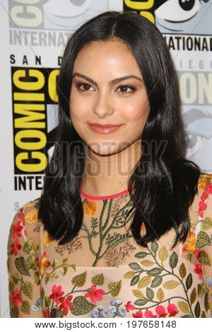 SAN DIEGO - July 22:  Camila Mendes at Comic-Con Saturday 2017 at the Comic-Con International Convention on July 22, 2017 in San Diego, CA