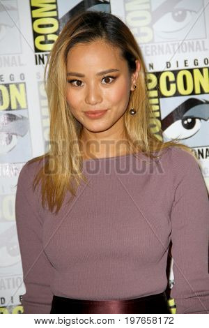 SAN DIEGO - July 22:  Jamie Chung at Comic-Con Saturday 2017 at the Comic-Con International Convention on July 22, 2017 in San Diego, CA