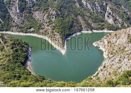 Heart Shaped Meander Of The Uvac River 2