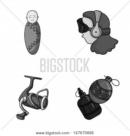 game, Fishing and other  icon in cartoon style.technology, baby icons in set collection.