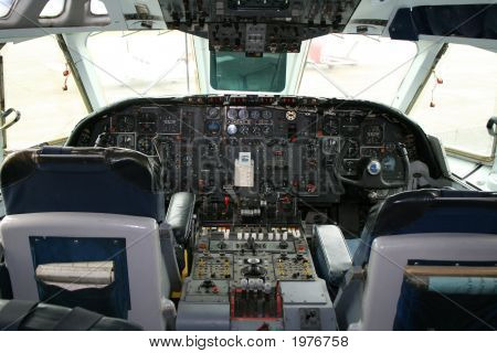 Cockpit Of Areoplane