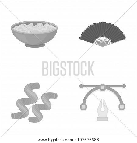 business, leisure, trade and other  icon in monochrome style. tools, sanitary, work, icons in set collection