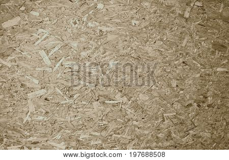 Natural beige wooden recycled compressed chips textured background